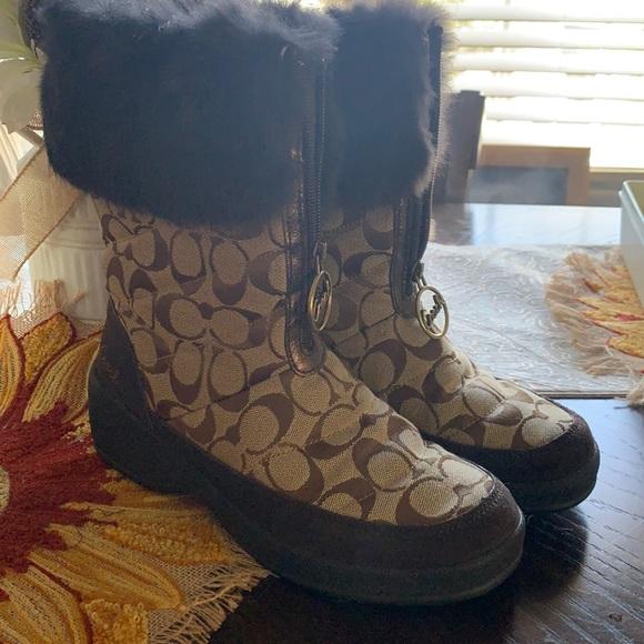 Beautiful Coach Boots size 8
